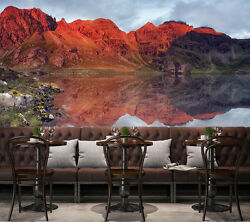 3d Red River Bank 656 Wall Paper Print Wall Decal Deco Indoor Wall Murals