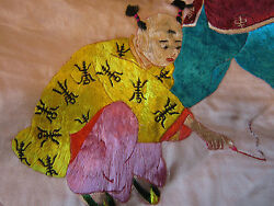 Vintage Chinese Hand Embroidered Pillow Sham,cover Silk,satin Stunning