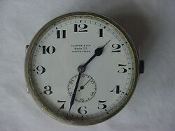 Campos And Cia 8 Day Antique Auto Dash Clock From Montevideo Uruguay