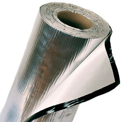 Fatmat 50 Mil Self-adhesive Sound Deadener 500 Sq Ft With Install Kit - No Logo