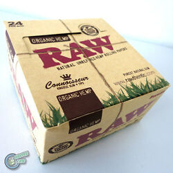 24x Raw King Size Slim + Tip Cigarette Paper Tobacco Papers Roller Rolling