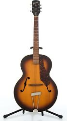 Vintage And03940s Gretsch Super Structure New Yorker Sunburst Archtop Acoustic Guitar