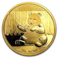 China 30 Gram Gold Panda Bu Not Sealed - Sku 96309