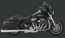 Vance And Hines 4.5 Destroyer Mufflers Harley Electra Glide Road King Street 17-19