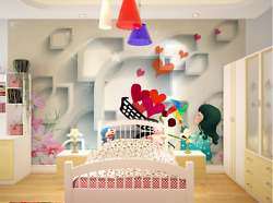 3d Love Boat Girl Paper Wall Print Wall Decal Wall Deco Indoor Murals