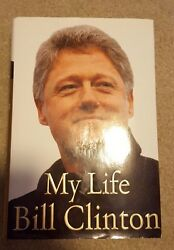 Bill Clinton Signed Hardcover Book My Life 1st Edition 42 President Coa Proof