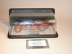 1924 Hispano-suiza Tulipwood Franklin Mint 124 Diecast With Display