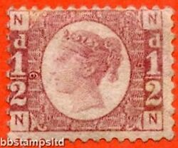 Sg. 48/49. Nn . ½d Rose - Red. Plate 9. A Fine Lightly Mounted Mint Example.