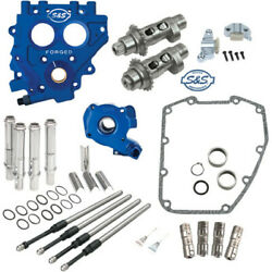 S&S 583 Easy Start Camchest Kit w Pushrods Oil Pump Plate Harley 07-17