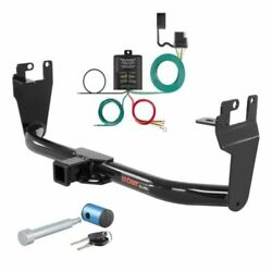 Curt Class 3 Trailer Hitch And Wiring W/hitch Lock For Jeep Renegade
