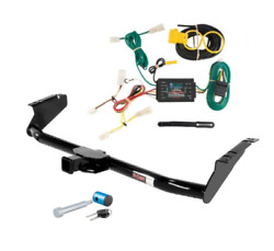 Curt Class 3 Trailer Hitch And Wiring W/hitch Lock For Toyota Sienna