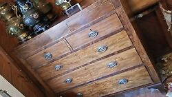Antiques English Chests Secretary Chest On Chest Paintings Lamps Decor