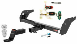 Curt Class 3 Trailer Hitch Tow Package W/ 2 Ball For Toyota Tacoma
