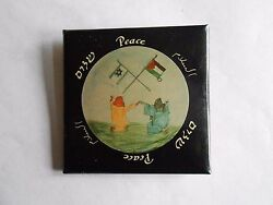 Vintage Artists for Mideast Peace Middle East Peace Cause Pinback