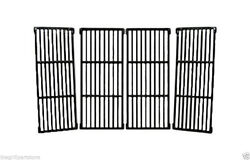 Uniflame Gas Grill Cast Iron Coated Hd Set Cooking Grates 31 X 17 1/2 62674