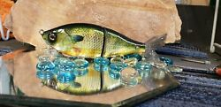 Custom Wrapped And Painted Flow Glider Swimbaits