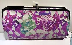 HOBO INTERNATIONAL~Lauren Floral Cut Out Wallet Clutch~GORGEOUS~$128~NWT!