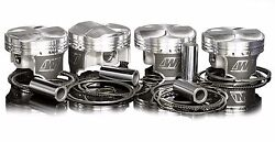 Wiseco Pistons 1400hd For 2g Dsm Eclipse 4g63 7 Bolt 86.5mm 8.71 Evo 1-3