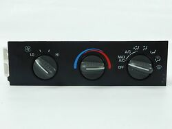 01 - 07 Chevy Express GMC Savana Heater AC Temperature Climate Control Unit OEM
