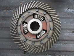 1965 Case 830 Diesel Comfort King Farm Tractor Ring Gear Differential Free Ship