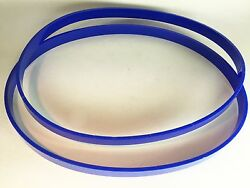 Set Of 2 Polyurethane 15 X 15/16 Tires Ultra Thick 1/8 For Craftex Band Saw