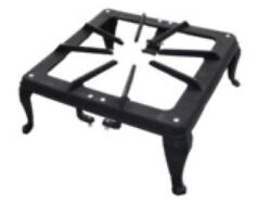 Frame For 3 Ring Cast Iron Ring Burner Lpg Gas Cooker Stove Wok Bbq Outdoor Camp