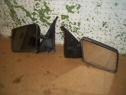 1991 Chevy S10 Truck Pickup Blazer Right Left Outer Manual Mirror Black 1990