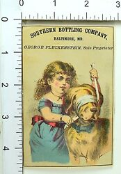1870's Rochester Beer Southern Bottling Co, Bartholomay Brewing Trade Card 1 F69
