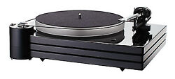 Music Hall MMF9.3 Turntable w1-piece Carbon-fiber armtriple-plinthdust cover