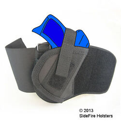 SideFire Ankle Holster Kel-Tec PF9 with Crimson Trace Laser Rail Master