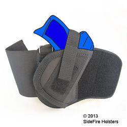 SideFire Ankle Holster Kel-Tec PF9 with ArmaLaser Stingray SR2 - Watch Demo!