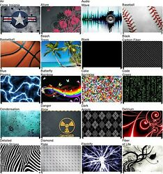Any 1 Vinyl Decal/skin For Toshiba Satellite M110 Laptop Lid - Free Us Shipping