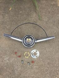 1965 Chevy Malibu Chrome Horn Ring With Button.