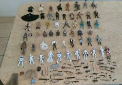 Star Wars And Star Wars The Clone Wars With Jedi Star Wars Action Figures - 56