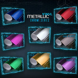 Chrome Mirror Vinyl Wrap Sticker Decal Sheet Roll Air Bubble Free Large Projects