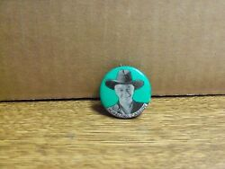 Hopalong Cassidy - William Boyd, Pin Back W/union Stamp, Ca 1950s, Clean