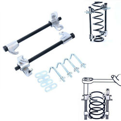 2pc Heavy Duty Coil Spring Compressor Strut Remover Installer Suspension Tool Us