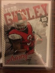 Todd Gurley Georgia 2015 Sage Hit Artistry #ART 7. Mint. Free Shipping