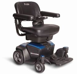 New Go Chair Pride Mobility Travel Electric Powerchair W/ 18ah Batteries