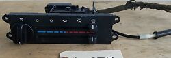 Jeep Wrangler TJ 97-98 HEATER CONTROL PANEL + CONTROL CABLE with AC Climate OEM