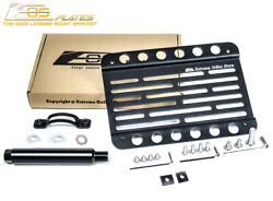 Eos For 13-16 Porsche Boxster 981 W/o Pdc   Front Tow Hook License Plate Bracket