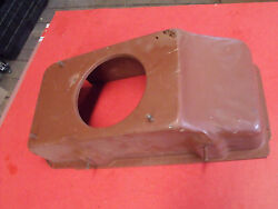 60-66? Chevy Truck Suburban Panel Short Bed Lower Heater box Cover wo AC