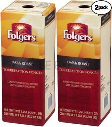 Folgers Liquid 2/1.25 Liter Dark Roast