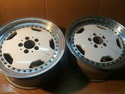Pair of AMG Aero AMG O.Z 3pc. 85x17 et 18. For Mercedes R129 W126 W124-500E