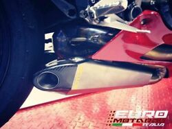 For Ducati 1199 Panigale Silmotor Exhaust Full Racing System Carbon Cap
