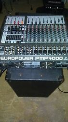 Audio Sub-woofers 2-way Monitor Amplifier Mixers And Mic Cables.