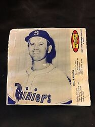 1963 Milwaukee Sausage Wieners Meats Hot Dogs Mel Parnell Seattle Rainers Pcl