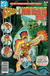 Shade The Changing Man 1 Vg/fn/5.0 - 1st Appearance Of Shade
