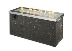 Outdoor Greatroom Company Key Largo Fire Pit Stainless Steel Push Button Ignit