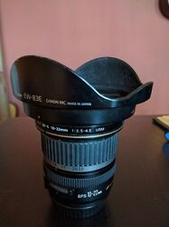 Canon Ef-s 10-22mm F/3.5-4.5 Usm Lens With Hood